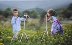 Kinder Fotoshootings