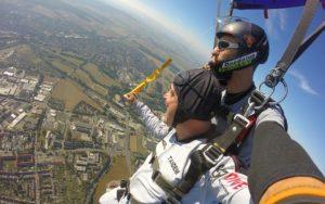 Fallschirm Tandemsprung