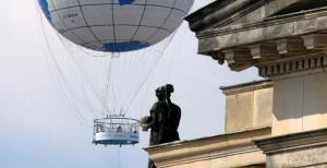 Fesselballon Flüge