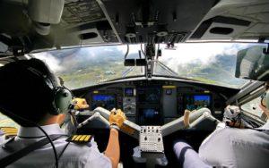 Flugzeug selbst fliegen