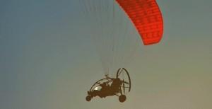 Para Trike fliegen