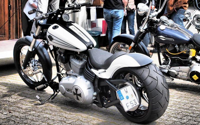 Harley Davidson fahren