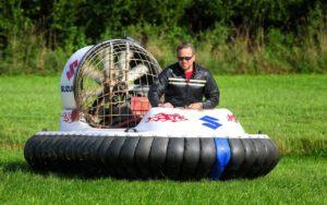 Hovercraft fahren