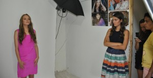 Model Fotoshooting