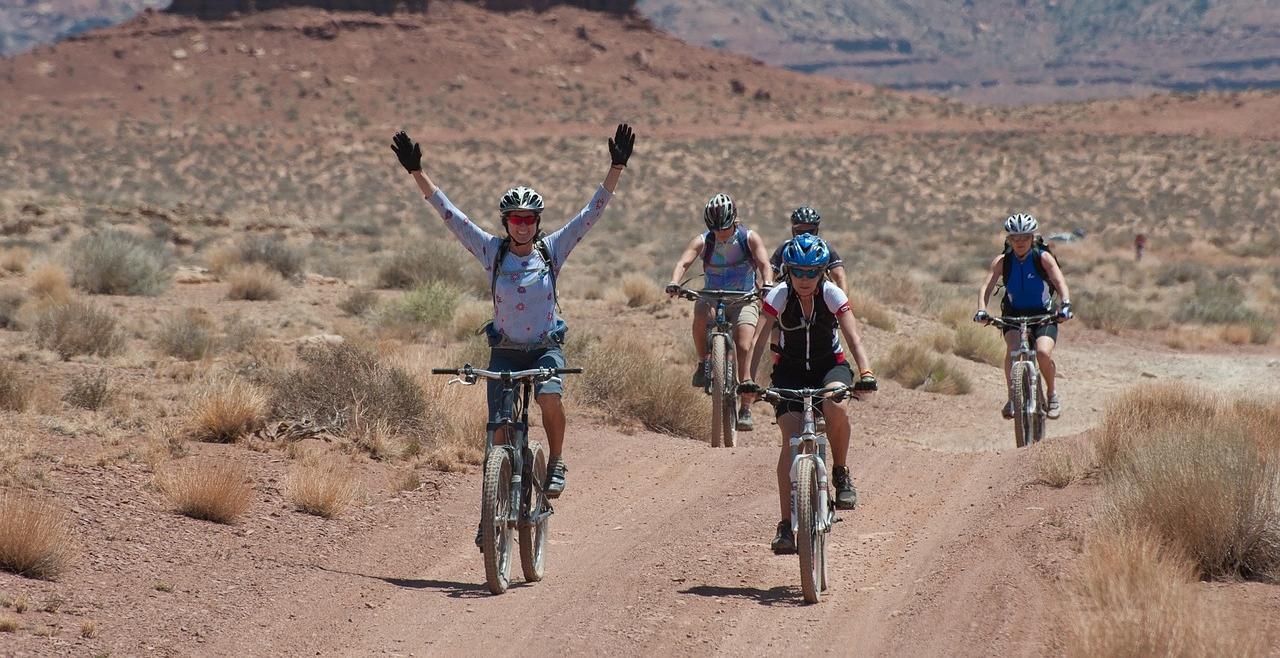 Mit Fahrradträger durch die Welt