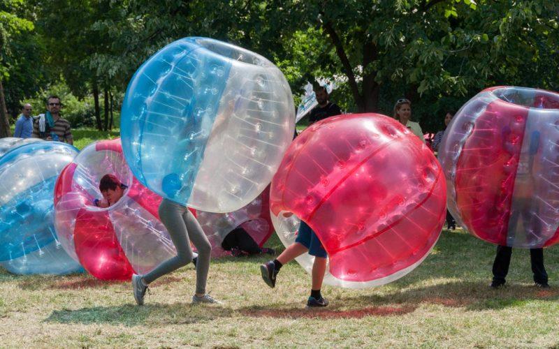 Bubble Fussball